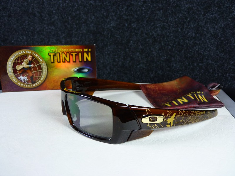 Oakley Gascan TINTIN Polished Rootbeer w/HDO-3D