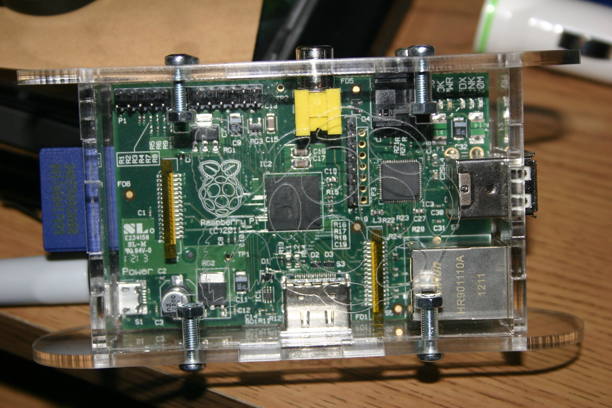 Picture of a Raspberry Pi Computer