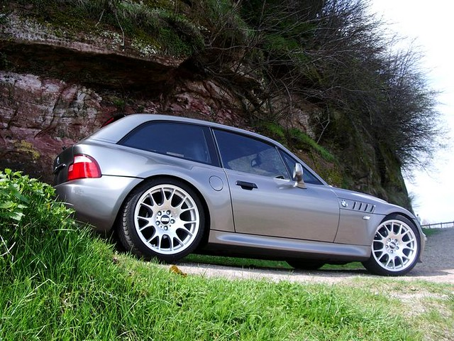 2001 Z3 Coupe | Sterling Gray | Black | BBS CH Wheels