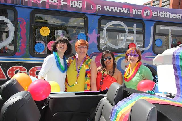 Edmonton Pride Parade Liberal MLA Laurie Blakeman
