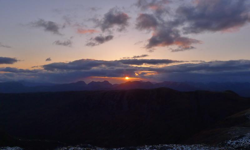 Sunset over Torridon