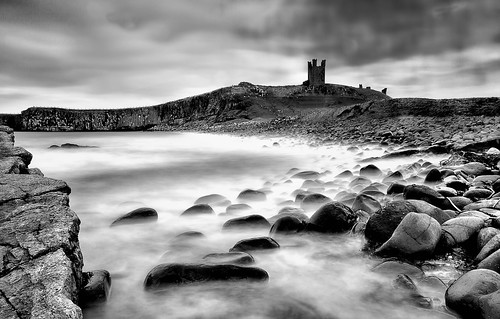 Dunstanburgh Castle near Craster
