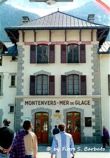 Chamonix-Mont-Blanc [F], 1997, Ferrovia Chamonix-Montenvers.