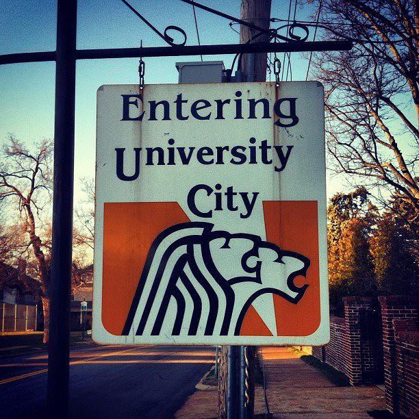 University City, MO - city sign