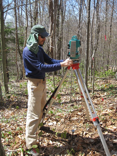 Balancing the total station
