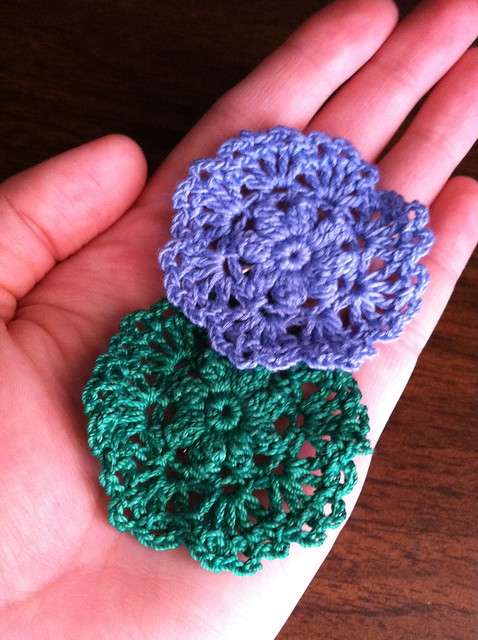 doily brooches