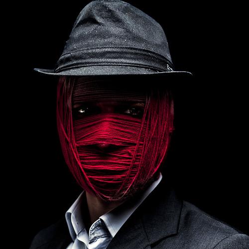 Crochet Man by Luca Pierro