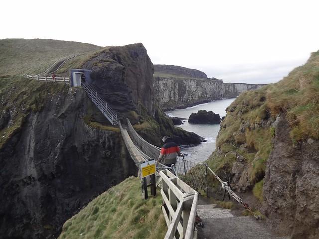 Carrick-a-rede ponte de corda, Irlanda do Norte