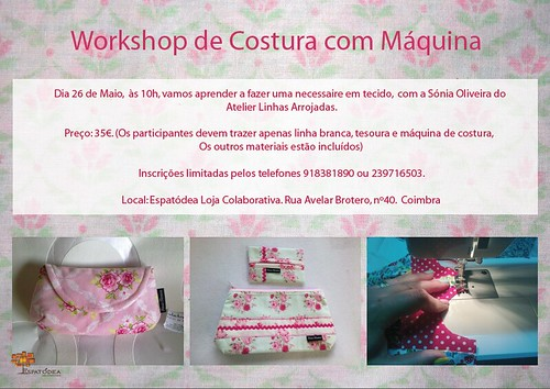 Workshop de costura by ♥Linhas Arrojadas Atelier de costura♥Sonyaxana