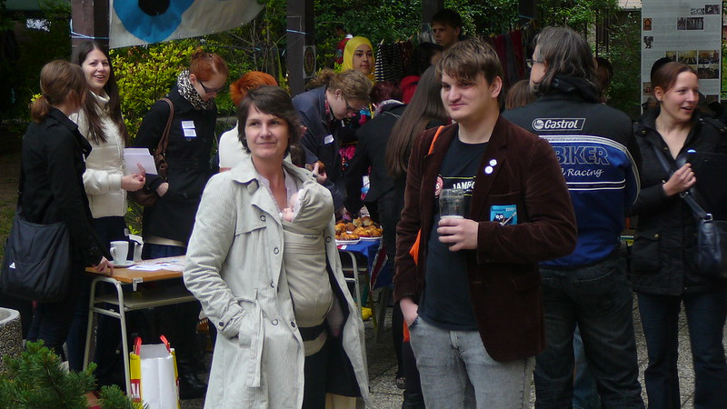 Nejmladší účastník festivalu. Foto: Adéla Procházková