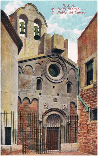 Barcelona, iglesia de San Pablo del Campo. by Octavi Centelles