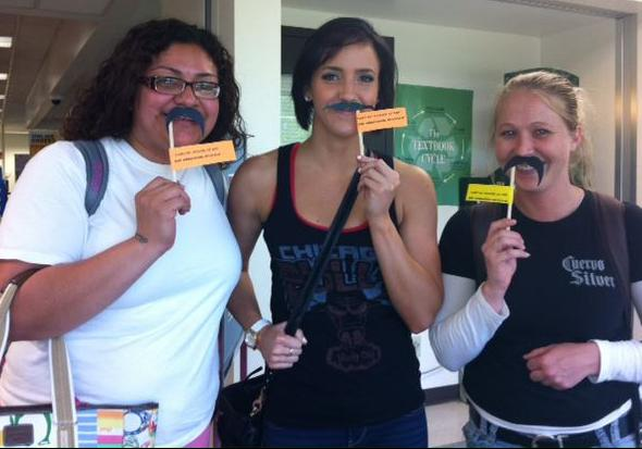 MBS Foreword Online - Black Hawk College Bookstore Mustache Bash Buyback