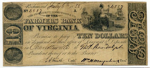 Farmer's Bank of VA note 1