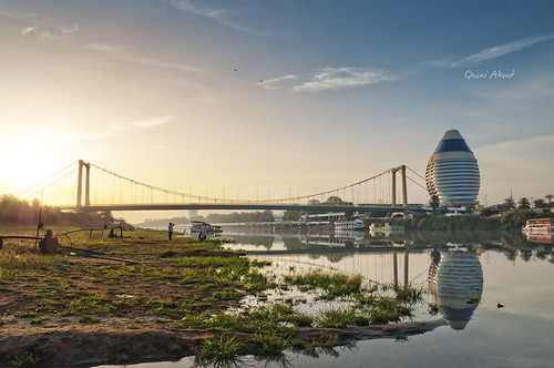 sunrise landscape sudan khartoum hdr burj qusai akoud burjelfateh