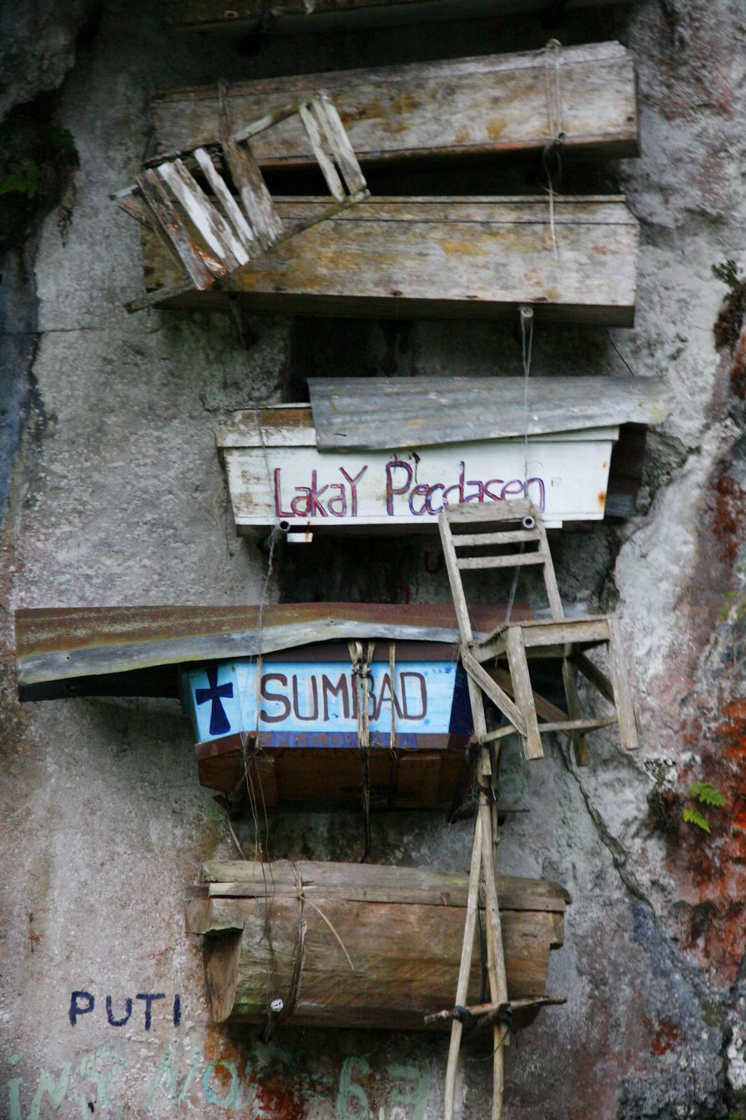6388. Hanging Coffins, Sagada