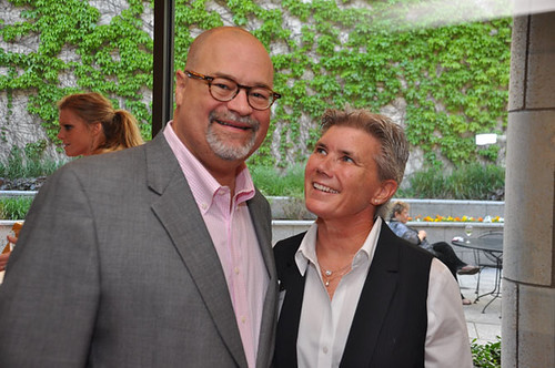 Joe Bartolotta & Sue Black at Gridiron Awards Dinner May 18, 2012