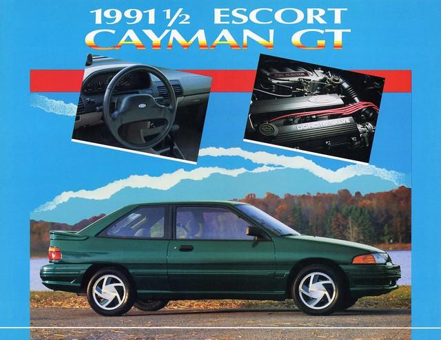 1991 1 2 ford escort cayman gt flickr photo sharing. Black Bedroom Furniture Sets. Home Design Ideas