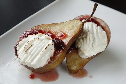 Roasted Pear Dessert