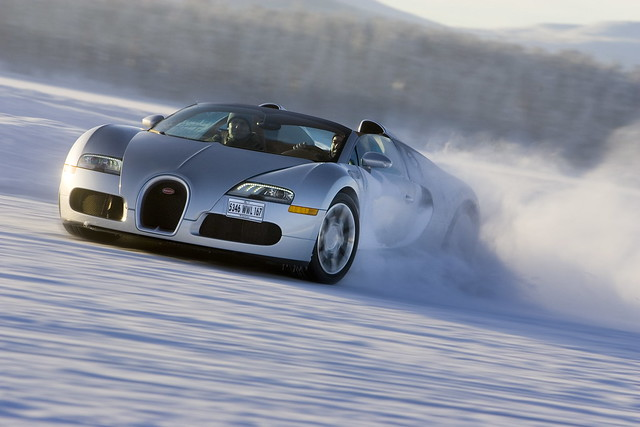 bugatti veyron 16 4 grand sport winter drive flickr photo sharing. Black Bedroom Furniture Sets. Home Design Ideas
