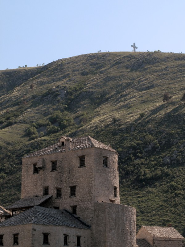 Colline dominant Mostar