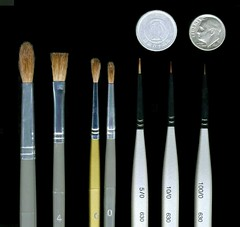 JAPANESE BRUSHES by Okinawa Soba (Rob)