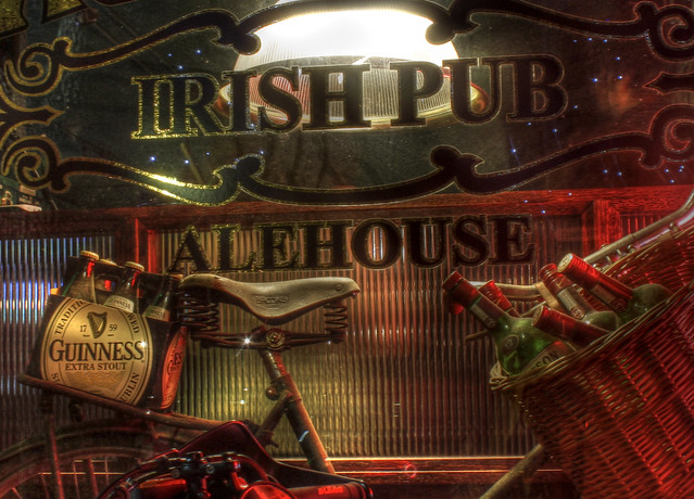 Header of alehouse