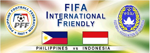 Philippines Indonesia friendly football game