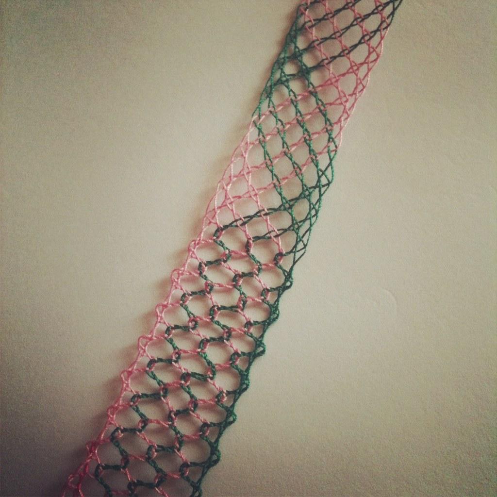 Bobbin lace lesson 2