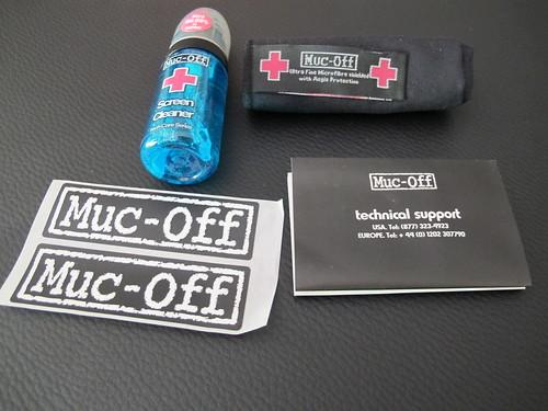 Contenido del Muc-Off - Rescue Kit