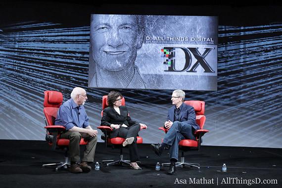 Facebook, Apple iTV, Siri y más. Tim Cook habla en el D10