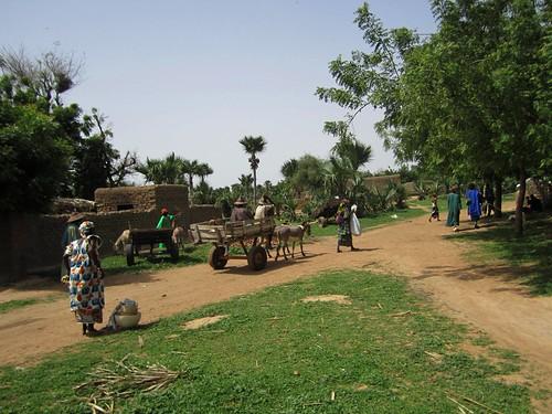 La aldea donde tuvo lugar la boda.