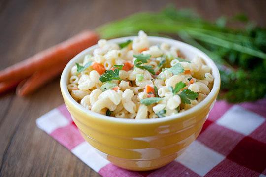 Post image for Lemony Macaroni Salad