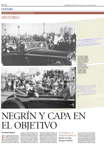 Negrín y Capa en el objetivo: www.laprovincia.es by Octavi Centelles