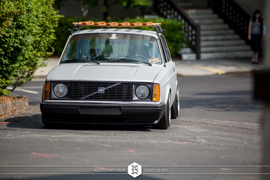low volvo at southern worthersee 2012