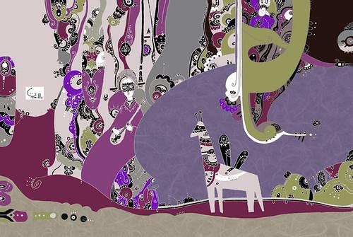 Carpathian giraffe
