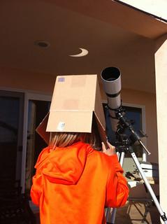 Pinhole#1 Eclipse 2012