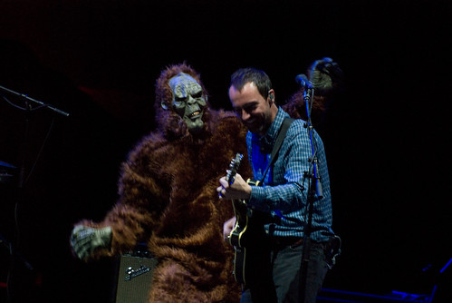 The Shins - James Mercer and a Sasquatch