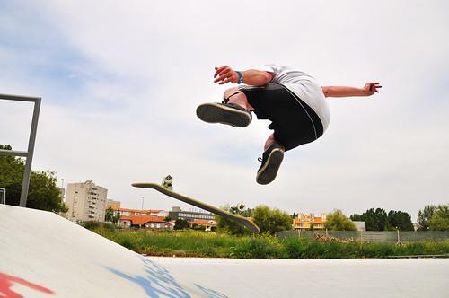 Skateboarding - Mick O' Connor - Ramalde Skate Park Porto, Portugal