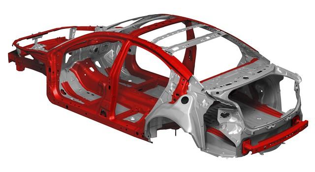 Mazda SKYACTIV Chasis