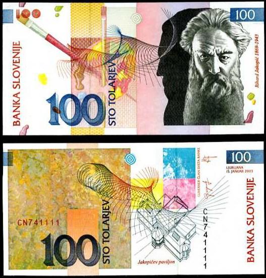 100 Toliarov Slovinsko 2003, Pick 31