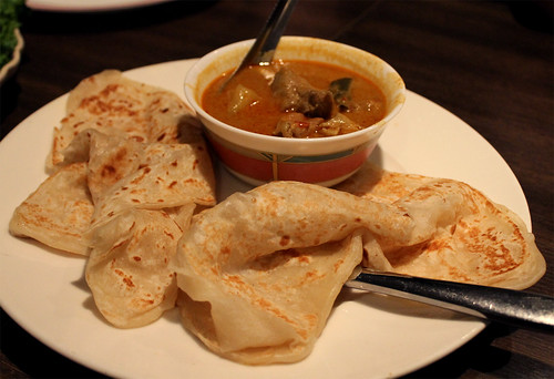 Roti with Curry Chicken