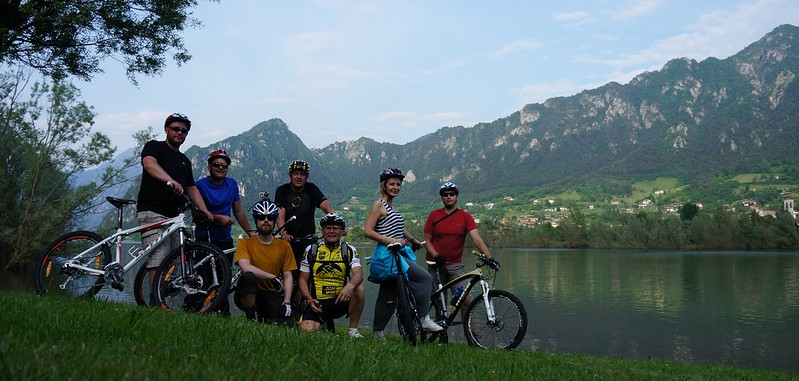 Our group & MTB Guide