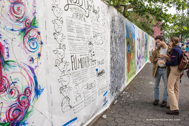 Street murals at NYC Howl Festival 02