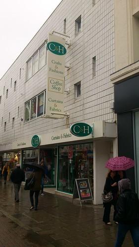 02 C & H Fabrics Shop, Brighton