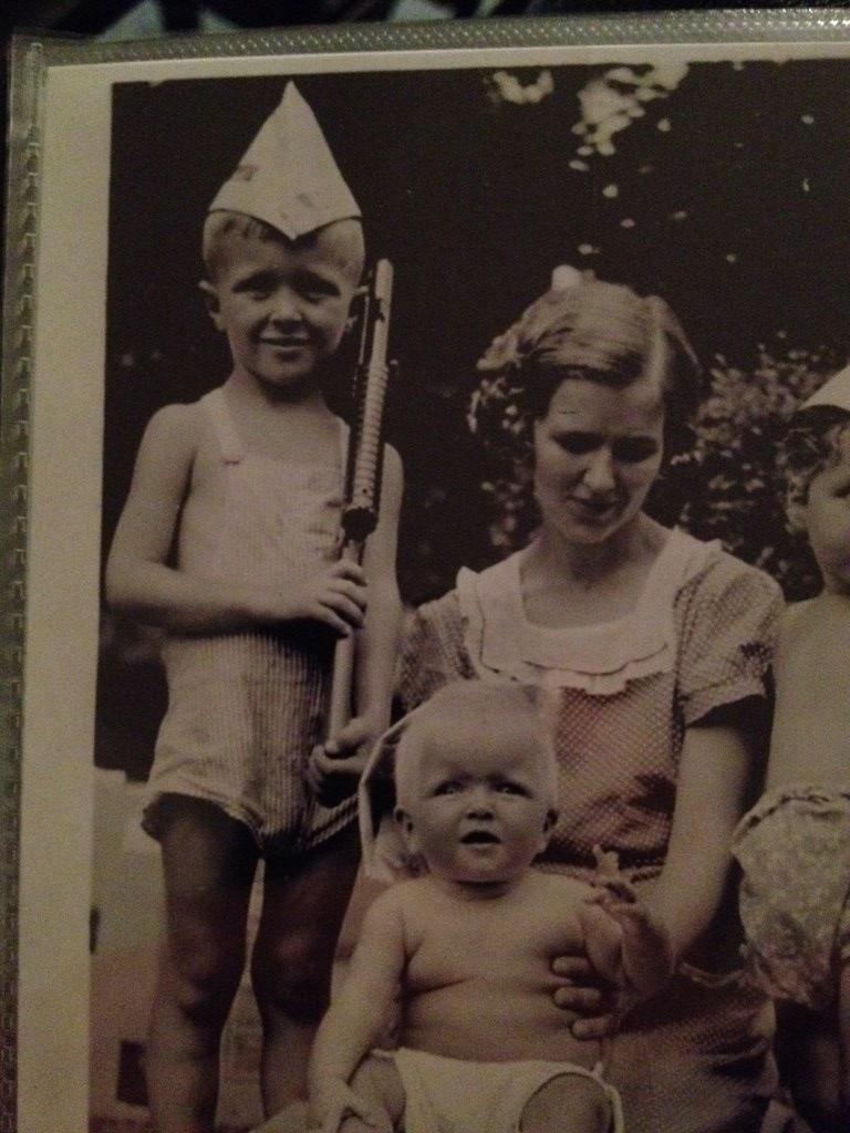 Robert Arthur Croker as a little boy