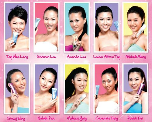 THEFACESHOP top girl 10 finalists