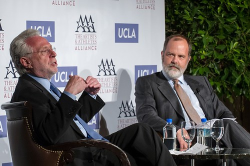 The Artist & Athletes Alliance And UCLA Present A Private Briefing With Wolf Blitzer