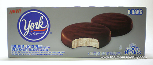 York Peppermint Pattie Ice Cream Bar 1