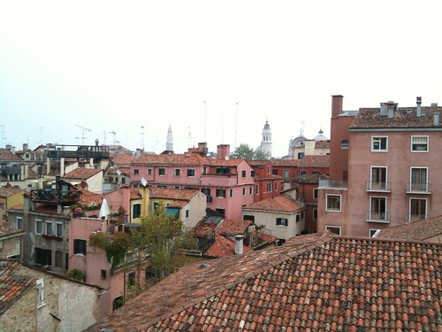View of Venetian Rooftops from the Doge's Palace