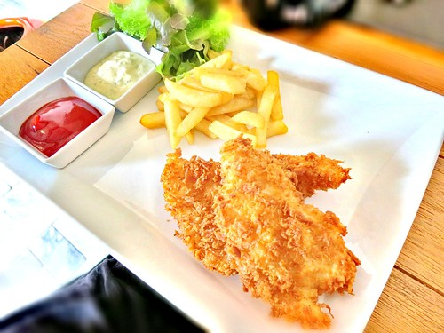 Kids Menu : Fish & Chips